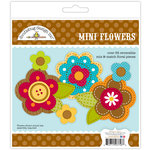Doodlebug Design - Friendly Forest Collection - Mini Flowers
