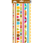 Doodlebug Design - Happy Harvest Collection - Cardstock Stickers - Fancy Frills