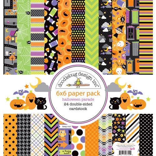 Doodlebug Design - Halloween Parade Collection - 6 x 6 Paper Pad