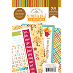 Doodlebug Design - Happy Harvest Collection - 4 x 6 Album Inserts