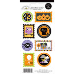 Doodlebug Design - Halloween Parade Collection - Cardstock Stickers - Seals