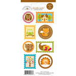 Doodlebug Design - Happy Harvest Collection - Cardstock Stickers - Seals
