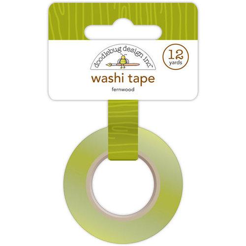 Doodlebug Design - Happy Camper Collection - Washi Tape - Fernwood