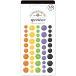 Doodlebug Design - Halloween Parade Collection - Sprinkles - Self Adhesive Enamel Dots - Halloween