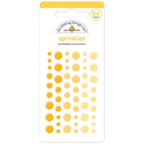 Doodlebug Design Bumblebee Sprinkles Enamel Dots