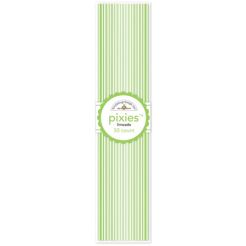 Doodlebug Design - Pixies - Straw Picks - Limeade