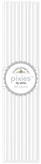 Doodlebug Design - Pixies - Straw Picks - Lily White