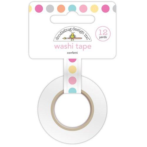 Doodlebug Design - Sugar Shoppe Collection - Washi Tape - Confetti