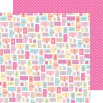 Doodlebug Design - Sugar Shoppe Collection - 12 x 12 Double Sided Paper - Gifts Galore