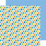 Doodlebug Design - Hip Hip Hooray Collection - 12 x 12 Double Sided Paper - Polka Party