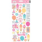Doodlebug Design - Sugar Shoppe Collection - Cardstock Stickers - Icons