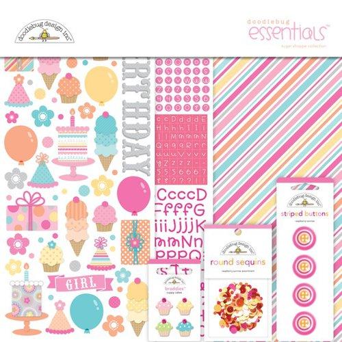 Doodlebug Design - Sugar Shoppe Collection - Essentials Kit