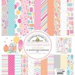 Doodlebug Design - Sugar Shoppe Collection - 12 x 12 Paper Pack