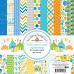 Doodlebug Design - Hip Hip Hooray Collection - 6 x 6 Paper Pad