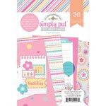 Doodlebug Design - Sugar Shoppe Collection - 4 x 6 Album Inserts