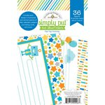 Doodlebug Design - Hip Hip Hooray Collection - 4 x 6 Album Inserts