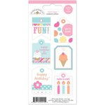 Doodlebug Design - Sugar Shoppe Collection - Cardstock Stickers - Mini Tags
