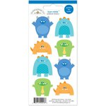 Doodlebug Design - Hip Hip Hooray Collection - Cardstock Stickers - Mini Icons - Monsters