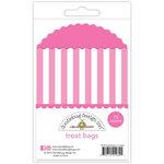 Doodlebug Design - Cream and Sugar Collection - Treat Bags - Bubblegum Stripes