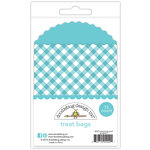 Doodlebug Design - Fairy Tales Collection - Gingham Treat Bags - Swimming Pool