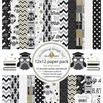 Doodlebug Design - The Graduates Collection - 12 x 12 Paper Pack - The Graduates