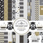 Doodlebug Design - The Graduates Collection - 6 x 6 Paper Pad