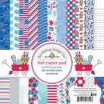 Doodlebug Design - Patriotic Parade Collection - 6 x 6 Paper Pad