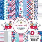 Doodlebug Design - Patriotic Parade Collection - 6 x 6 Paper Pad