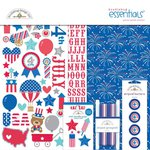Doodlebug Design - Patriotic Parade Collection - Essentials Kit