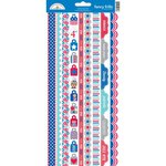 Doodlebug Design - Patriotic Parade Collection - Cardstock Stickers - Fancy Frills