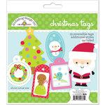 Doodlebug Design - Santa Express Collection - Christmas Tags Craft Kit