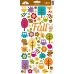 Doodlebug Design - Friendly Forest Collection - Cardstock Stickers - Icons