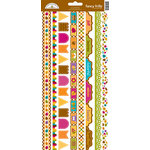 Doodlebug Design - Friendly Forest Collection - Cardstock Stickers - Fancy Frill