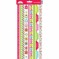 Doodlebug Design - Santa Express Collection - Christmas - Cardstock Stickers - Fancy Frills