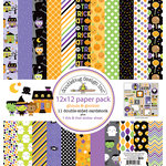Doodlebug Design - Ghouls and Goodies Collection - Halloween - 12 x 12 Paper Pack
