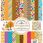 Doodlebug Design - Friendly Forest Collection - 12 x 12 Paper Pack
