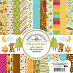 Doodlebug Design - Happy Camper Collection - 6 x 6 Paper Pad