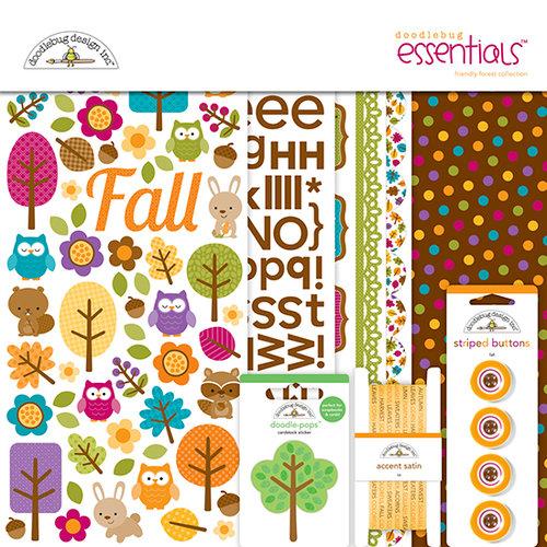 Doodlebug Design - Friendly Forest Collection - Essentials Kit