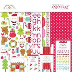 Doodlebug Design - Santa Express Collection - Christmas - Essentials Kit