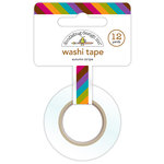 Doodlebug Design - Friendly Forest Collection - Washi Tape - Autumn Stripe