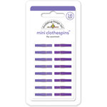 Doodlebug Design - Mini Clothespins - Lilac