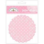 Doodlebug Designs - Paper Doilies - Polka Dot - Cupcake