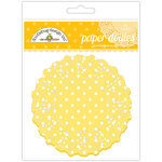 Doodlebug Designs - Paper Doilies - Polka Dot - Bumblebee