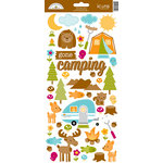 Doodlebug Design - Happy Camper Collection - Cardstock Stickers - Icons