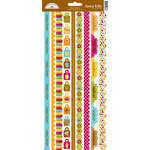 Doodlebug Design - Happy Camper Collection - Cardstock Stickers - Fancy Frills