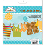 Doodlebug Design - Happy Camper Collection - Mini Clothes Line