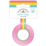 Doodlebug Design - Fairy Tales Collection - Washi Tape - Rainbow Stripe