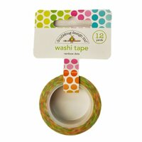 Doodlebug Design - Hello Sunshine Collection - Washi Tape - Rainbow Dots