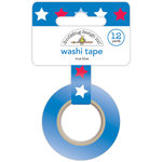 Doodlebug Design - Yankee Doodle Collection - Washi Tape - True Blue