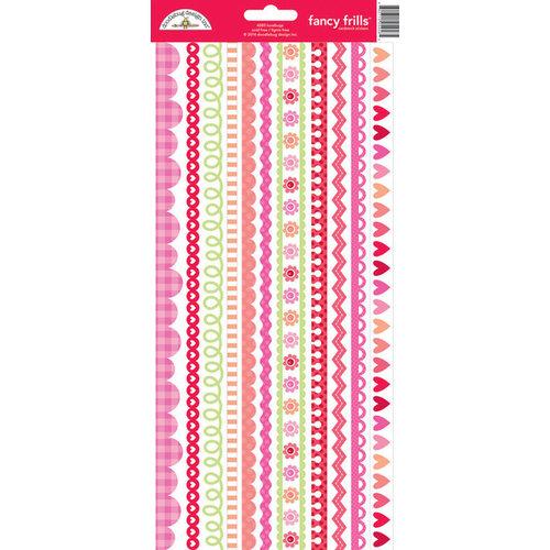Doodlebug Design - Lovebugs Collection - Cardstock Stickers - Fancy Frills